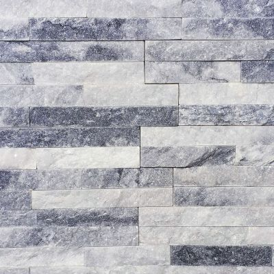 Panel ścienny Kwarcyt Stackstone Cloud Grey 10x36x0,8-1,3 cm