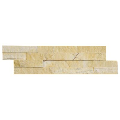 Panel ścienny Marmur Yellow Stackstone 10x36x0,8-1,3 cm