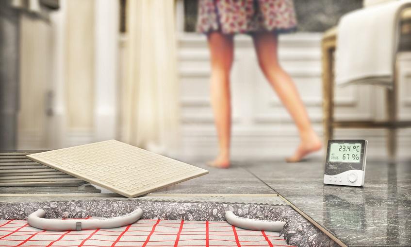 Płytki na ogrzewanie podłogowe. Dlaczego ogrzewanie podłogowe i gres to idealna para?