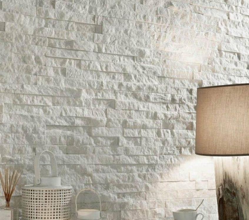 Kamień we wnętrzach. Pięć inspiracji na wyjątkową ścianę z kamienia naturalnego